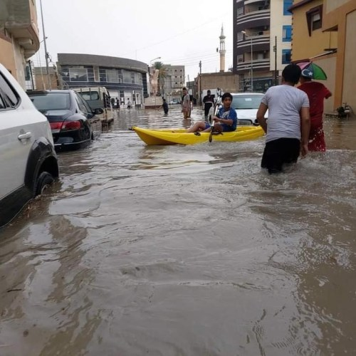 Photo Story – Floods in Misrata, Libya