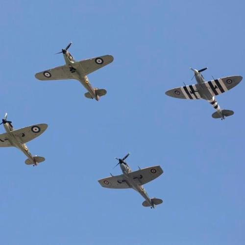Photo Story: Scenes from the 80th anniversary of the Battle of Britain commemoration