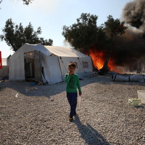 Testimony of how Moria migrant camp blaze started