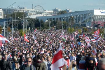 Belarus opposition appeal to EU fails to unblock sanctions