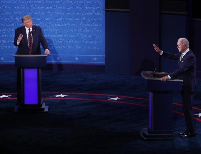 Biden and Trump clash in first TV debate