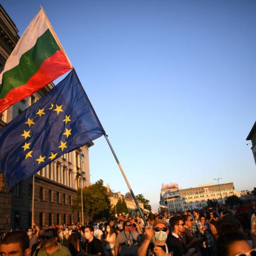 Bulgarian ruling party vows to stay in power after violent protests