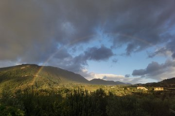 Photo Story – Rainbow of hope in Caposele, Italy