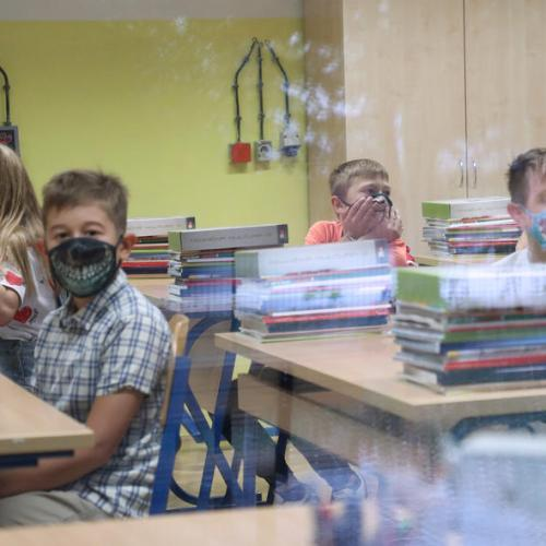 Photo story: Schools open in Croatia