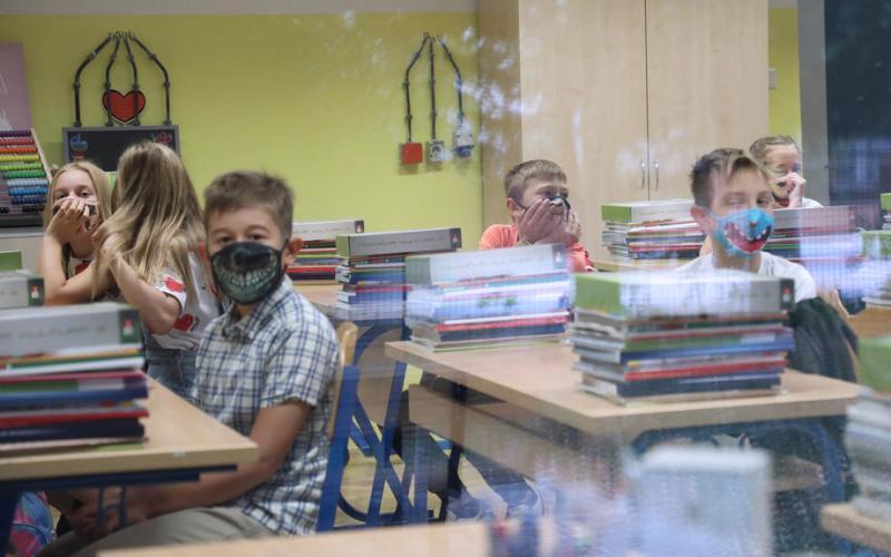 Photo story: Schools open in Croatia