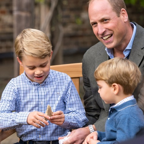 Prince George and siblings quiz Britain's Attenborough on his favourite animal