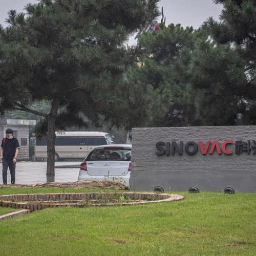 90% of China's Sinovac employees, families took coronavirus vaccine