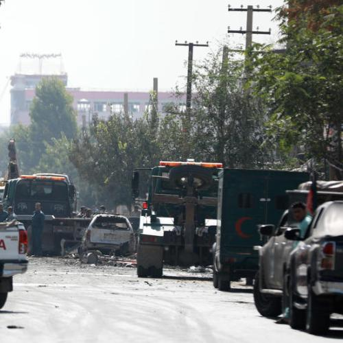 UPDATED: Afghan vice president targeted by roadside bomb that kills six