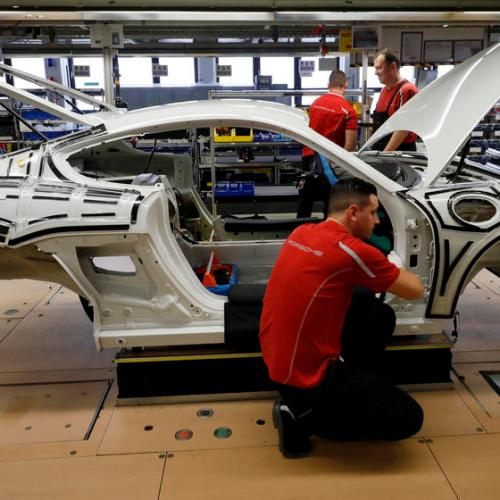Weak rise in German industry orders dents hopes for robust recovery