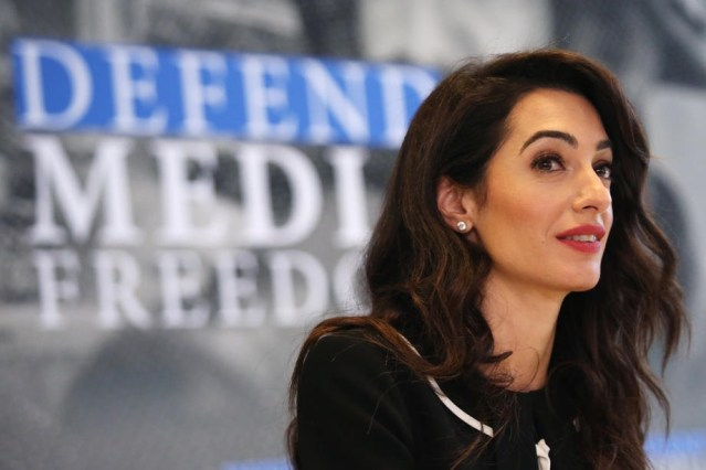 """Amal Clooney resigns as UK's special envoy in protest to Government's Brexit """"law-breaking"""" plan"""