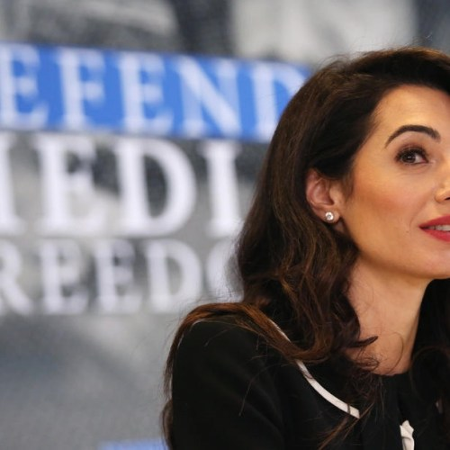 "Amal Clooney resigns as UK's special envoy in protest to Government's Brexit ""law-breaking"" plan"