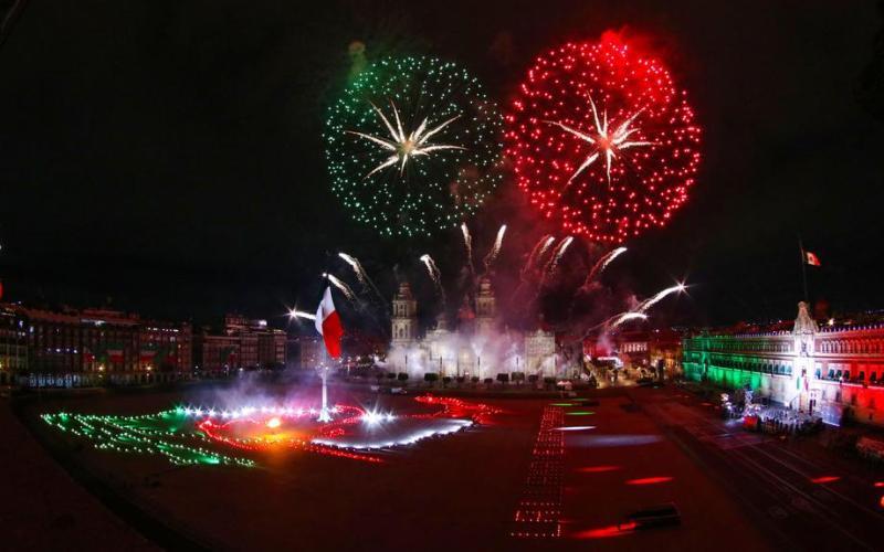 Photo Story: Mexico celebrates beginning of independence amid coronavirus pandemic