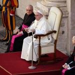 Pope warns against seeking political, economic gain from coronavirus