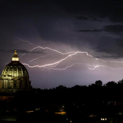 Photo Story: Bad Weather in Rome