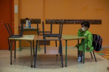 Half the world's schoolchildren still unable to attend classrooms