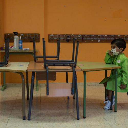 Half the world's schoolchildren still unable to attend classrooms