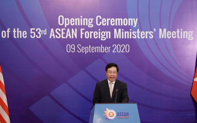 Asia summits underway amid U.S.-China friction