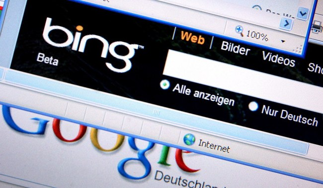 Bing, smaller firms, win Google's Android search auction in Europe