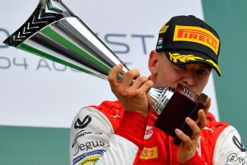Michael Schumacher's son Mick says his father would welcome Lewis Hamilton's record