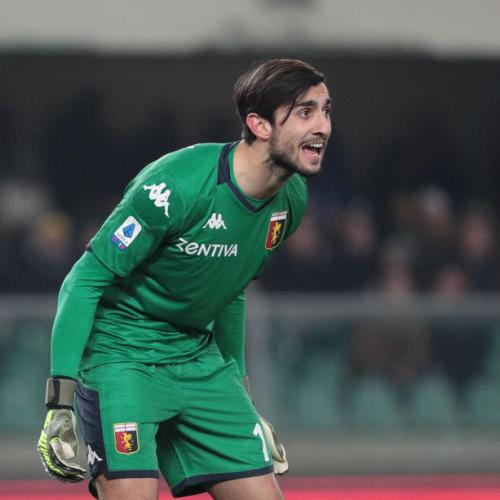 Genoa's goalkeeper tests positive for Covid-19