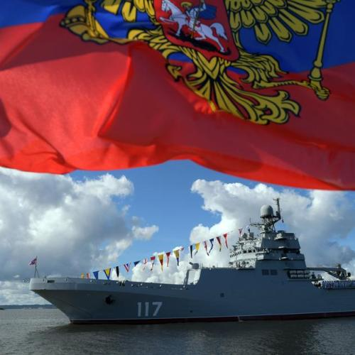 Russian warships enter Swedish territorial waters