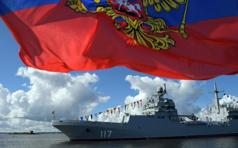Russian warships enter Swedish territorial waters