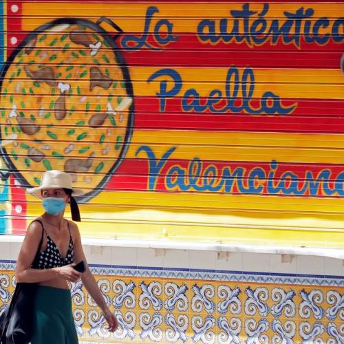 Foreign tourism to Spain drops 75% in July