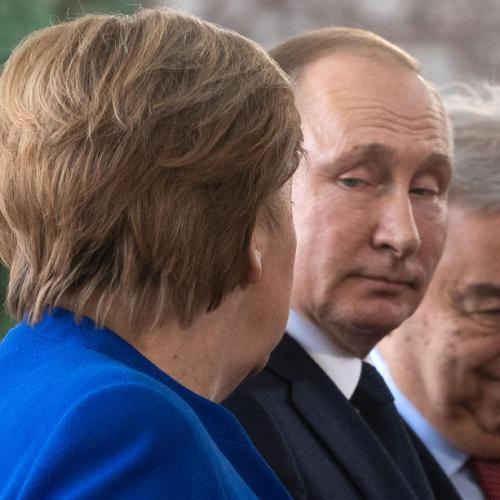 Merkel does not rule out sanctions on Russia-Germany gas pipeline