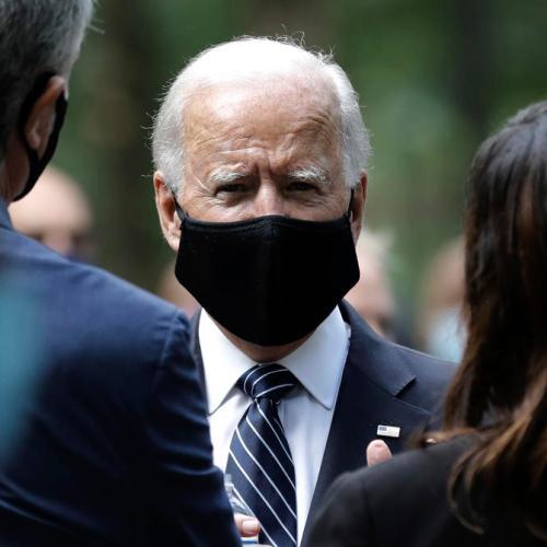 Biden bashes Trump's leadership on pandemic, Trump attacks Biden on trade
