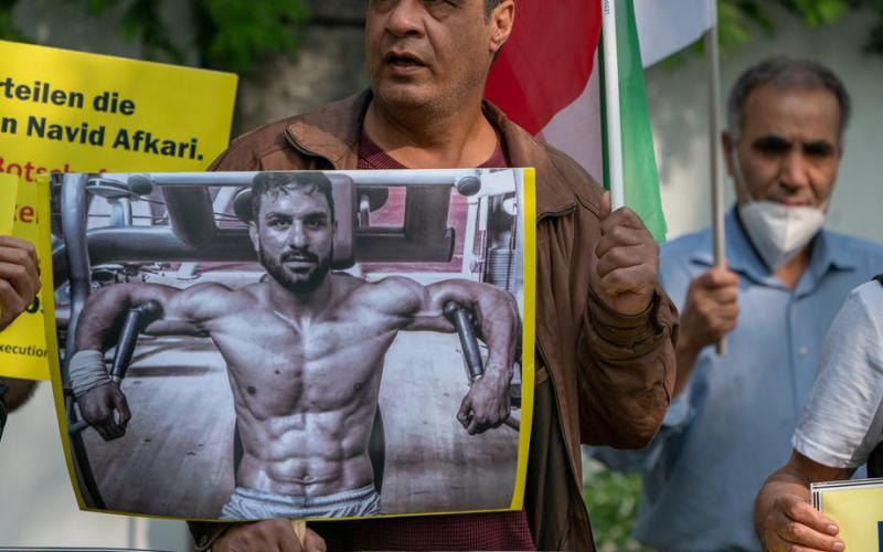 Iranian wrestler executed