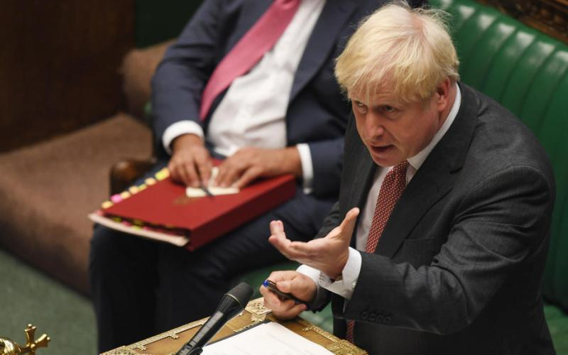 Johnson lashes out at EU, gets initial approval for Internal Markets Bill