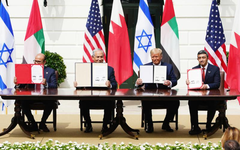 UAE and Bahrain sign U.S.-brokered deals with Israel, breaking longtime taboo