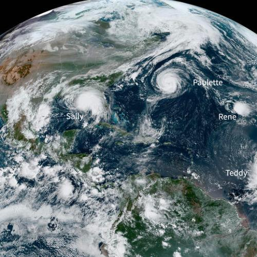 Photo Story: Six Tropical Systems swirl around two oceans