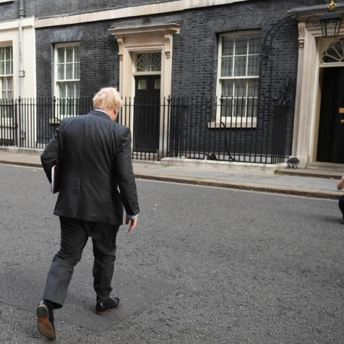 Johnson invites British to work from home