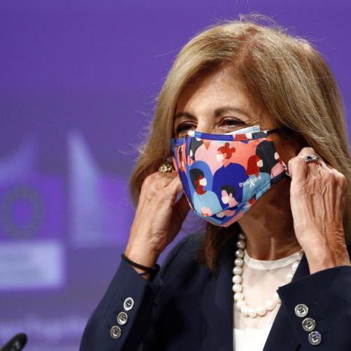 EU Commissioner Stella Kyriakides goes in coronavirus quarantine