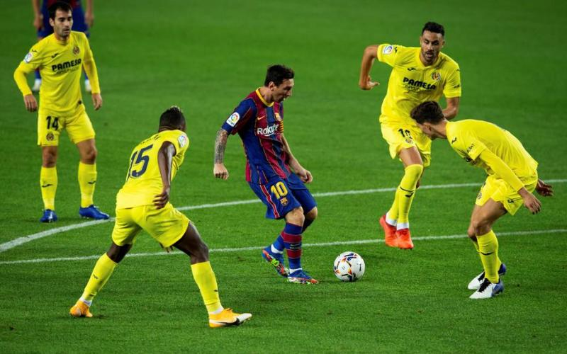 Messi back in 'goal' business