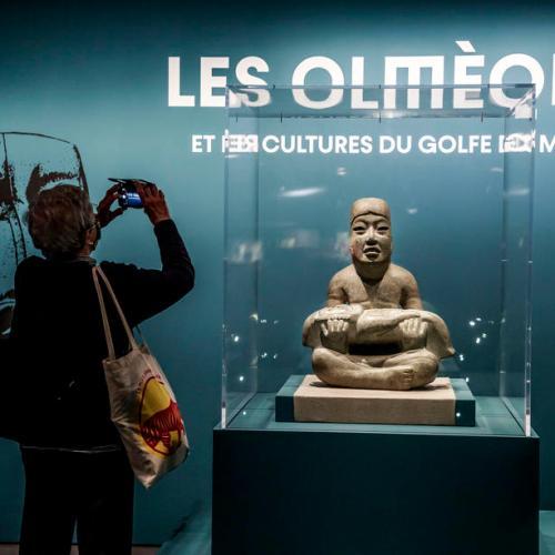 Photo Story: Exhibit on Olmec civilization opens in Paris