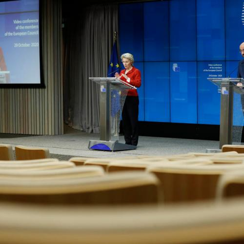 Warning EU at risk of being overwhelmed by coronavirus