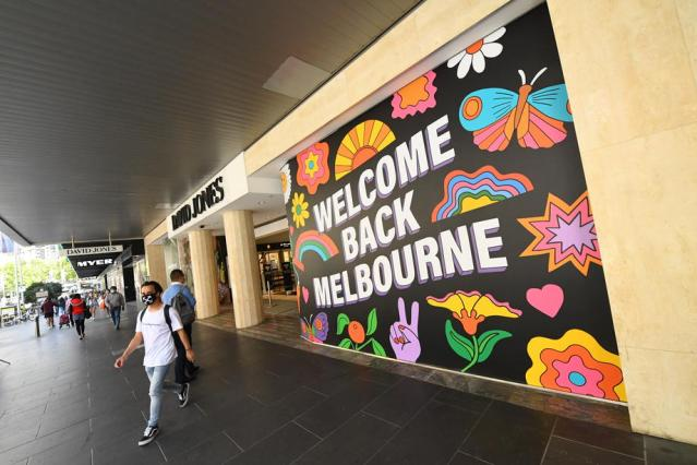 Melbourne opens dining, shopping as coronavirus lockdown lifted