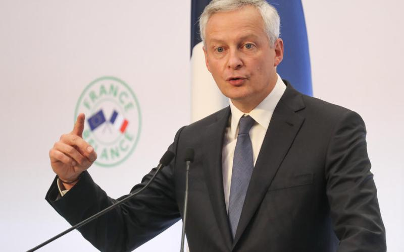 France says EU should press ahead with digital tax plans