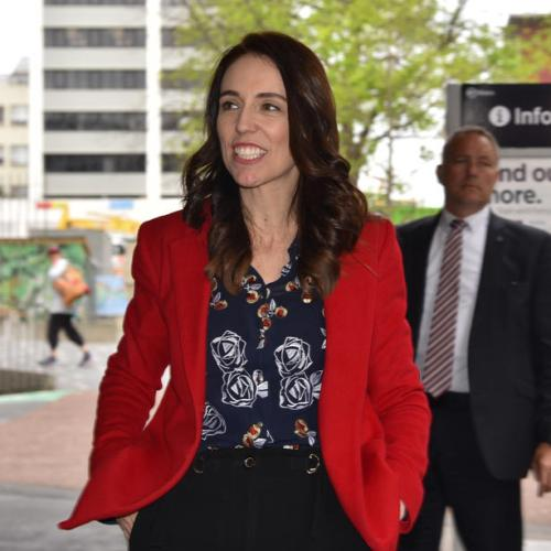 New Zealand's Ardern's party support slips a point in latest poll