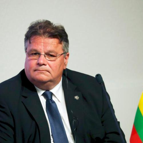 Lithuanian foreign minister self-isolating after French visit