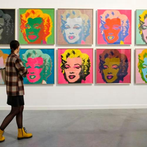 Photo Story: 'Warhol – The American Dream Factory' Exhibition in Liege