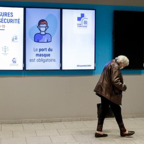 """Belgium postpones non-essential hospital work because of COVID """"tsunami"""""""