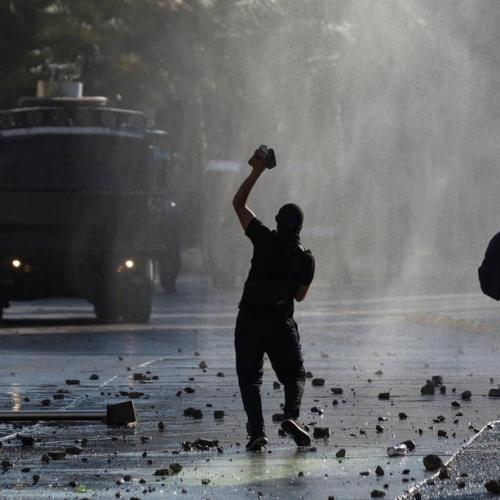 Chilean capital Santiago rocked by protests