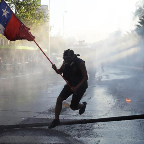 Photo Story: Anti-government protests continue in Chile
