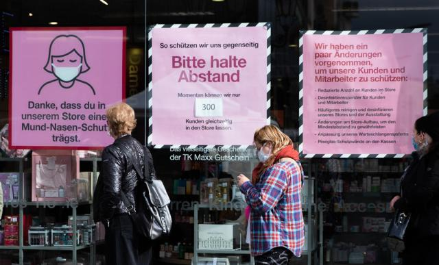 German business sentiment falls on coronavirus angst