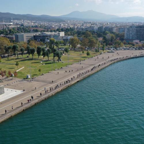 Photo Story: People stand in line for free Covid-19 test in Thessaloniki, Greece