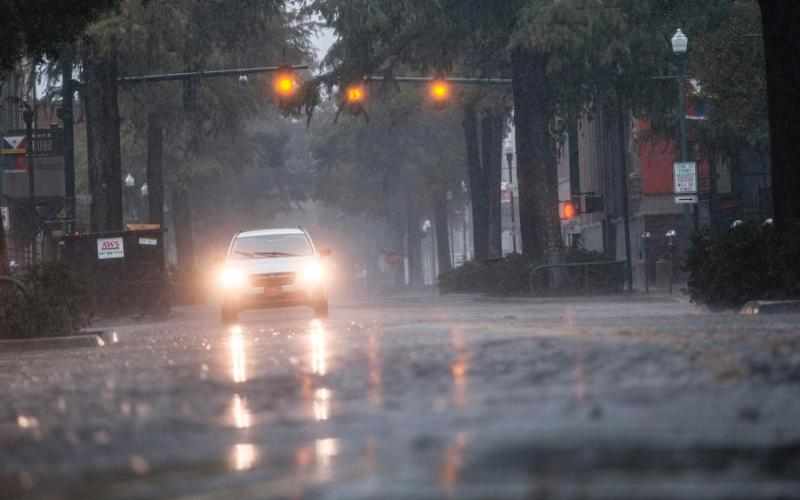Hurricane Delta weakens after hitting battered Louisiana coast