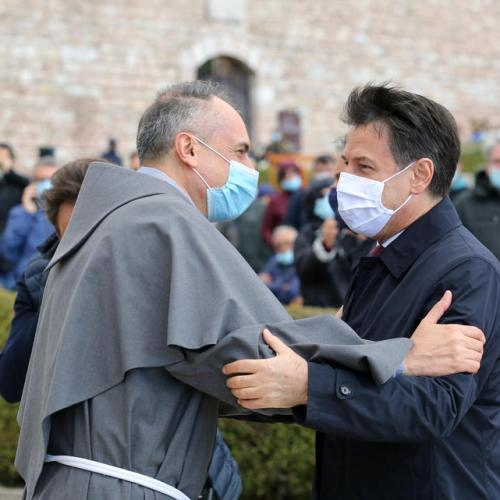 Photo Story: Italian PM Conte in Assisi for celebrations of Saint Francis